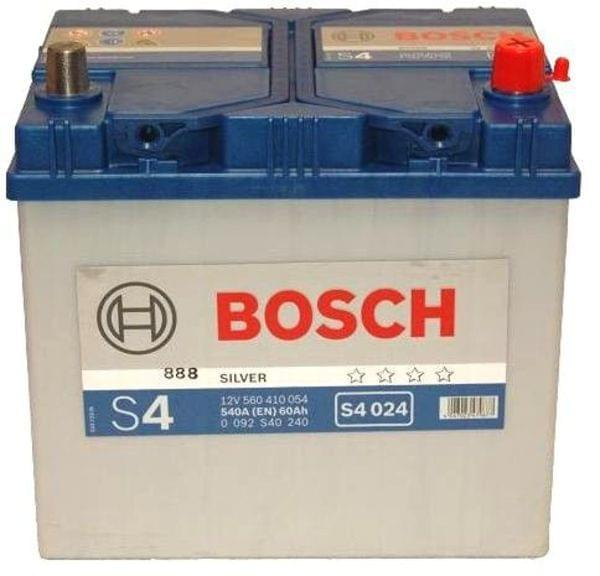 car battery bosch silver 40ah 330a 12v s4 018. Black Bedroom Furniture Sets. Home Design Ideas