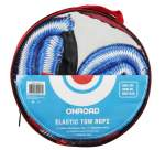 towing rope Stretchy 3000 kg, 1-5m, red flag