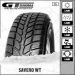 SUV winter Tyre Without studs GT RADIAL SAVERO WT 255/65R16 109T