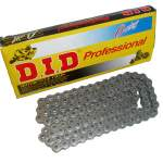 motorcycle chain DID X-ring reinforced 525, 122 link