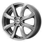 Alloy Wheel iFree Dice Hyper Silver, 15x6.0 4x100 ET40 middle hole 67