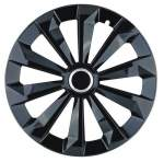 wheel cover FAME RING BLACK 14""