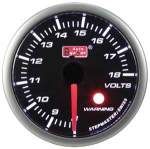 ag electrica voltmeeter 52mm smoke