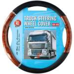 truck Wheel cover Ø44-46cm, wood- black