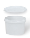 BOLL- container white plastic 0,24L with lid 0070197