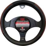 Wheel cover Maranello XXX black- red õmblusega 37-40cm
