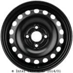 5J x14 H2; steel wheel; Volkswagen: UP / Lupo II 06/11-; Seat Mii 06/11-; Skoda Citigo 06/11-