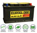 Start Stop AGM battery 12v 278x175x190 70Ah -/+, 760A Euroglobe