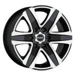 Valuvelg MAK kivi 6 Black peegel, 18x8.5 6x139.7 ET20